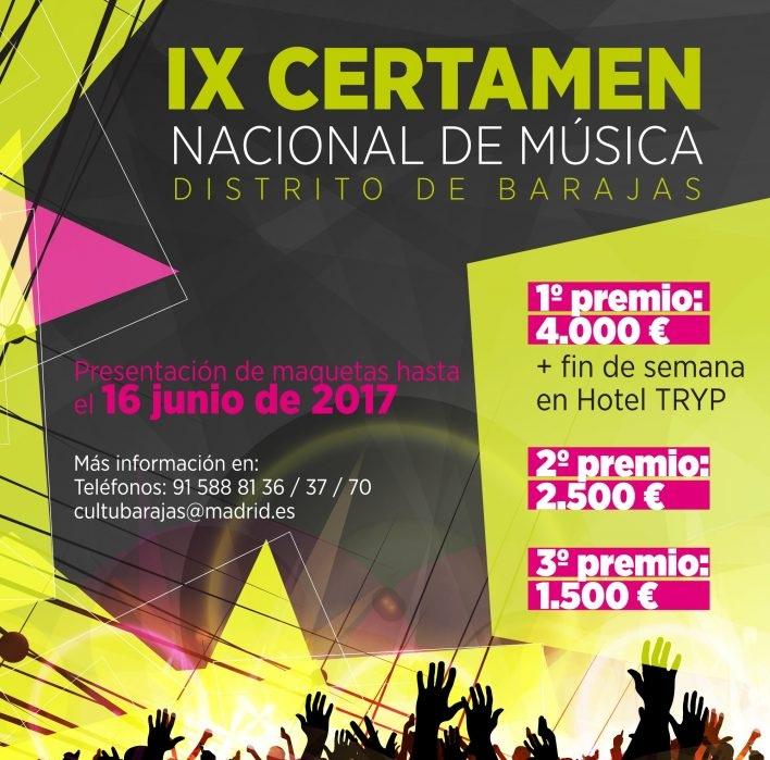 IX Certamen Nacional de Música